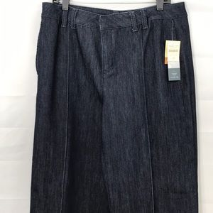 Coldwater creek misses size 14 pickstitch trousers